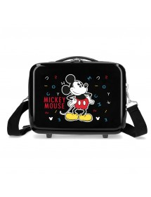 BEAUTY ABS MICKEY LETTERE NERE ADATTABILI