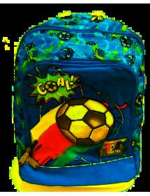 Zaino Scuola organizzato Kit Classic Young Boy Goal