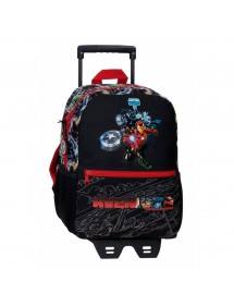 ZAINO AVENGERS ARMOR UP CON CARRELLO 28 CM