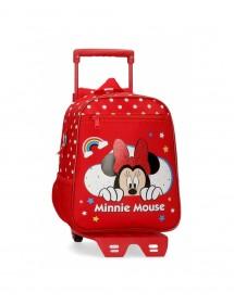 Zaino pre scuola con carrello Minnie Mouse