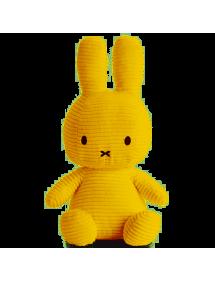 Peluche Miffy velluto giallo