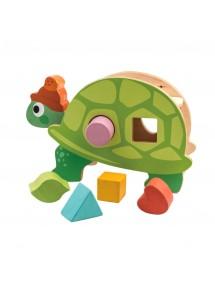 B. Giocattoli Panca per martelletto per selezionatore in legno colorato Pound & Play baby