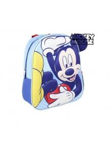 Zaino Per Bambini 3D Mickey Mouse +Bicchiere + Portamerenda
