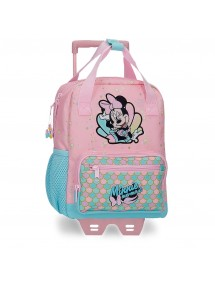 ZAINO PRE SCUOLA MINNIE MERMAID 28CM CON TROLLEY