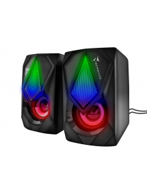 Speaker Gaming Multicolore Techmade