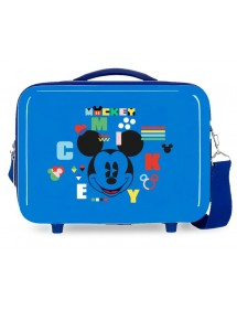 Borsa adattabile blu Mickey in ABS.