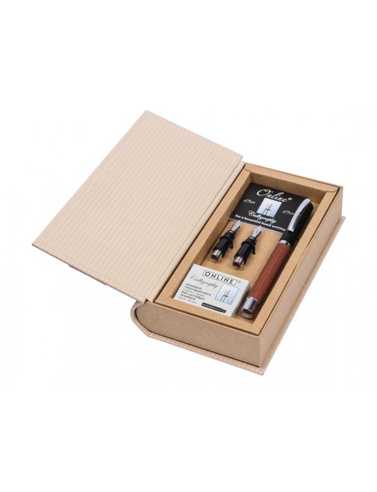 ONLINE Penna stilografica Set Vision 1.4mm  Rosewood