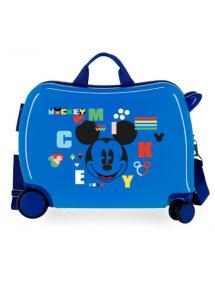Valigia per bambini 2 ruote multidirezionali Mickey