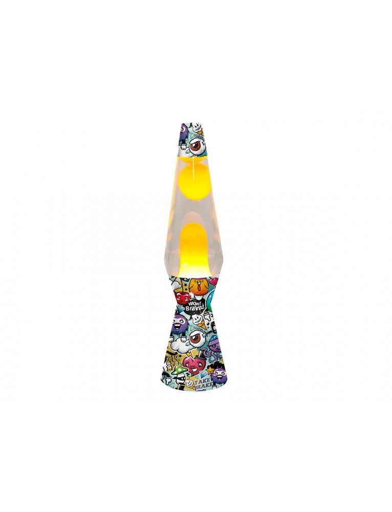 Lampada Lava Graffiti