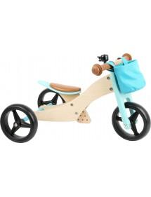 Triciclo Trike 2 in 1 turchese