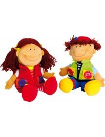Pupazzi «Nicoletta e Davide»
