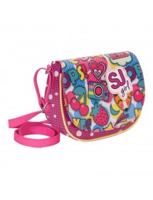BORSA SHOULDER BAG SEVEN SJ GANG CHERRY POP