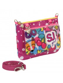 BORSA SEVEN FASHION BAG SJ GANG CHERRY POP