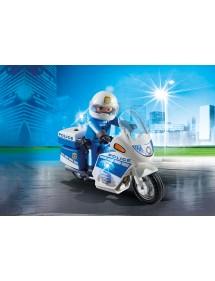 Moto della polizia Playmobil