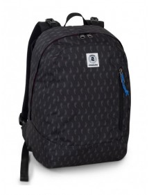 ZAINO REVERSIBLE BACKPACK INVICTA NERO
