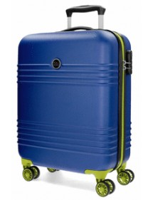 TROLLEY ABS 55CM INDIA AZZURRO