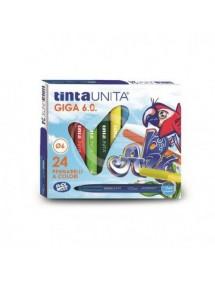 TINTA UNITA - PENNARELLI GIGA 6.0 - 24 COLORI