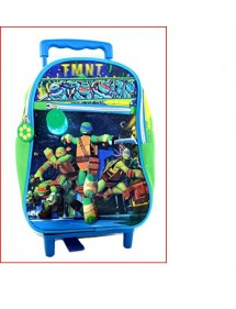 MINI TROLLEY SCUOLA ASILO - TURTLES