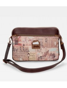 BORSA PORTA TABLET MARRONE ANEKKE
