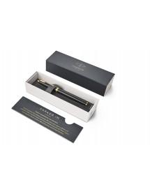 Penna Stilografica Parker IM Premium Black Gold Trim