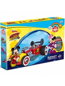PASTA DA MODELLARE DIDÒ MODELLANDIA MICKEY & THE ROADSTER DISNEY FILA