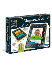 Play Creative Disegni Mostruosi Clementoni