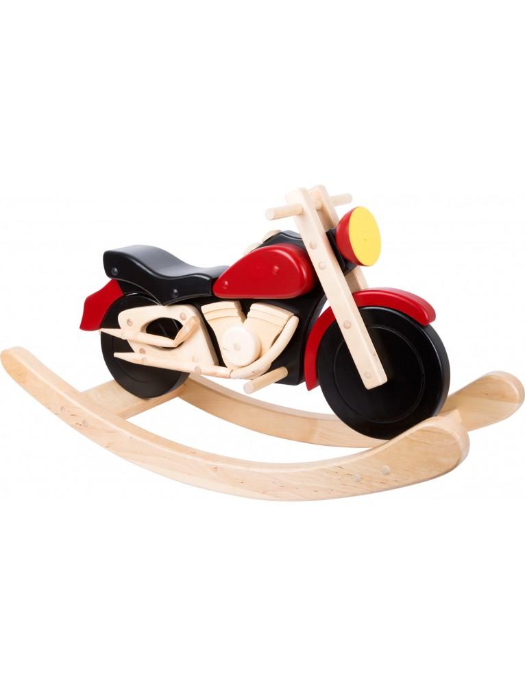 Motocicletta a dondolo Legno