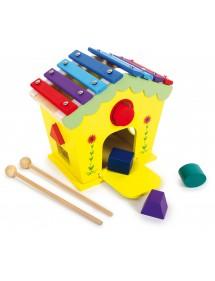 Casa sonora «Dodoo» legno