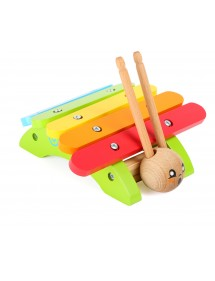 Xilofono «Lumaca» in legno