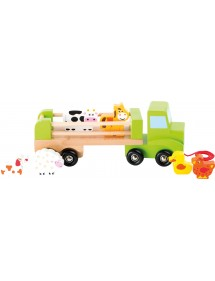 Trasportatore di animali in legno