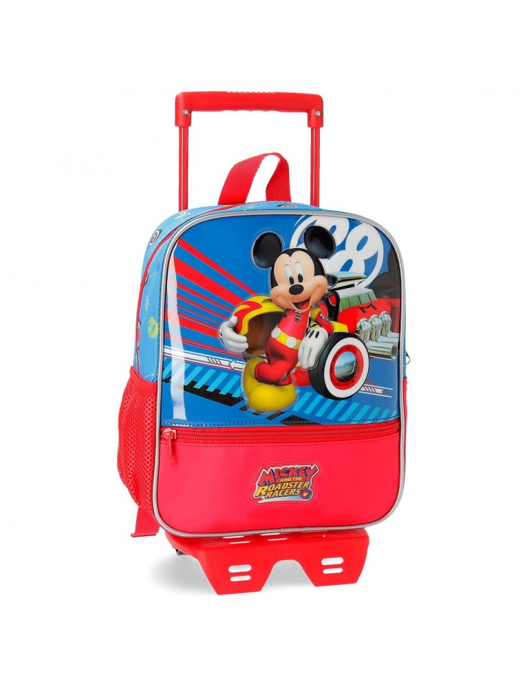 ZAINO ASILO DA 28 CM CON TROLLEY WORLD MICKEY