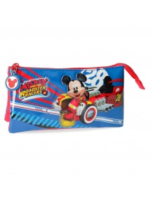 BUSTINA WORLD MICKEY A TRE SCOMPARTI