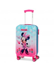 VALIGIA RIGIDA CABINA MINNIE HEART 55CM
