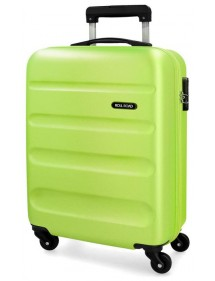 Valigia Trolley Pistacchio ABS da 55 cm ROLL ROAD FLEX