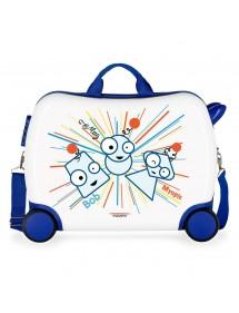 Happy Time Valigia per bambini, 50 cm, Multicolore MOVOM