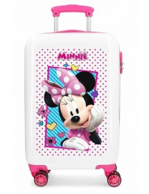 TROLLEY ABS JOY MINNIE 55 CM