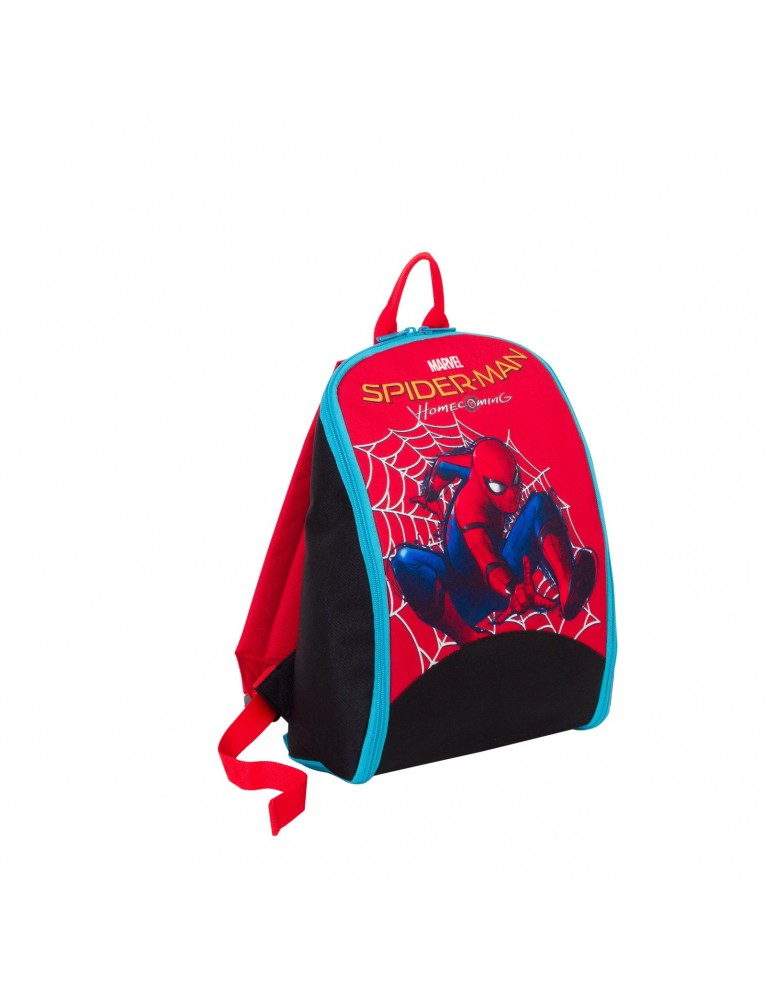 ZAINETTO SPIDERMAN GAME BACKPACK HOME COMING SILVE