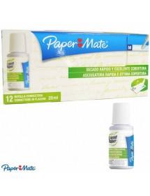 Correttore Fluido Liquid Paper Papermate - 20 ml conf. 12