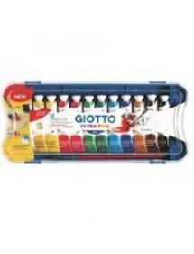 Tubi tempera Giotto - 12 ml - conf. 12
