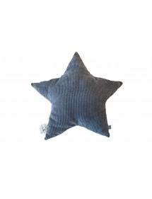 PICCA LOULOU - Cuscino Etoile grigio 30 cm