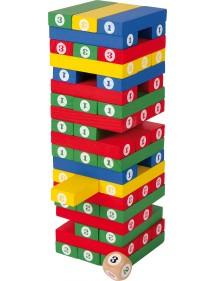 Torre dei numeri in Legno