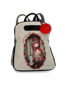 BORSA ZAINO CASUAL GORJUSS LITTLE RED