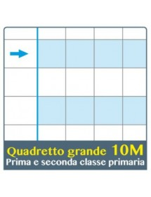 ONE COLOR QUADERNO DIDATTICO PER DISGRAFIA MAXI 10MM 100GR