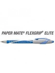 PENNA SFERA FLEXGRIP ELITE conf. 12 Blu