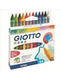 Pastelli a cera Giotto - assortiti - conf. 24