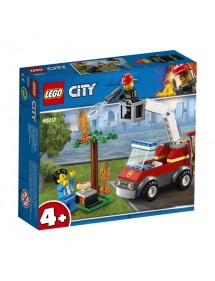 LEGO City Fire Barbecue in fumo