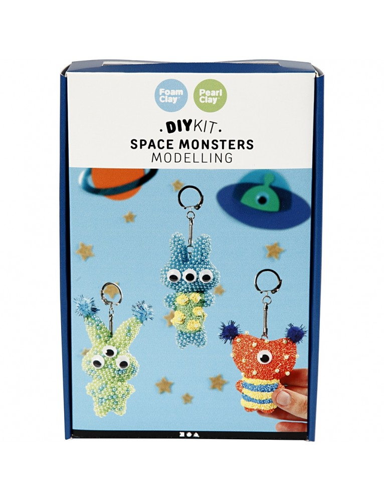 Space Monsters, 1 set