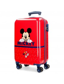 VALIGIA BAITA RIGIDA HAPPY MICKEY 55CM DISNEY